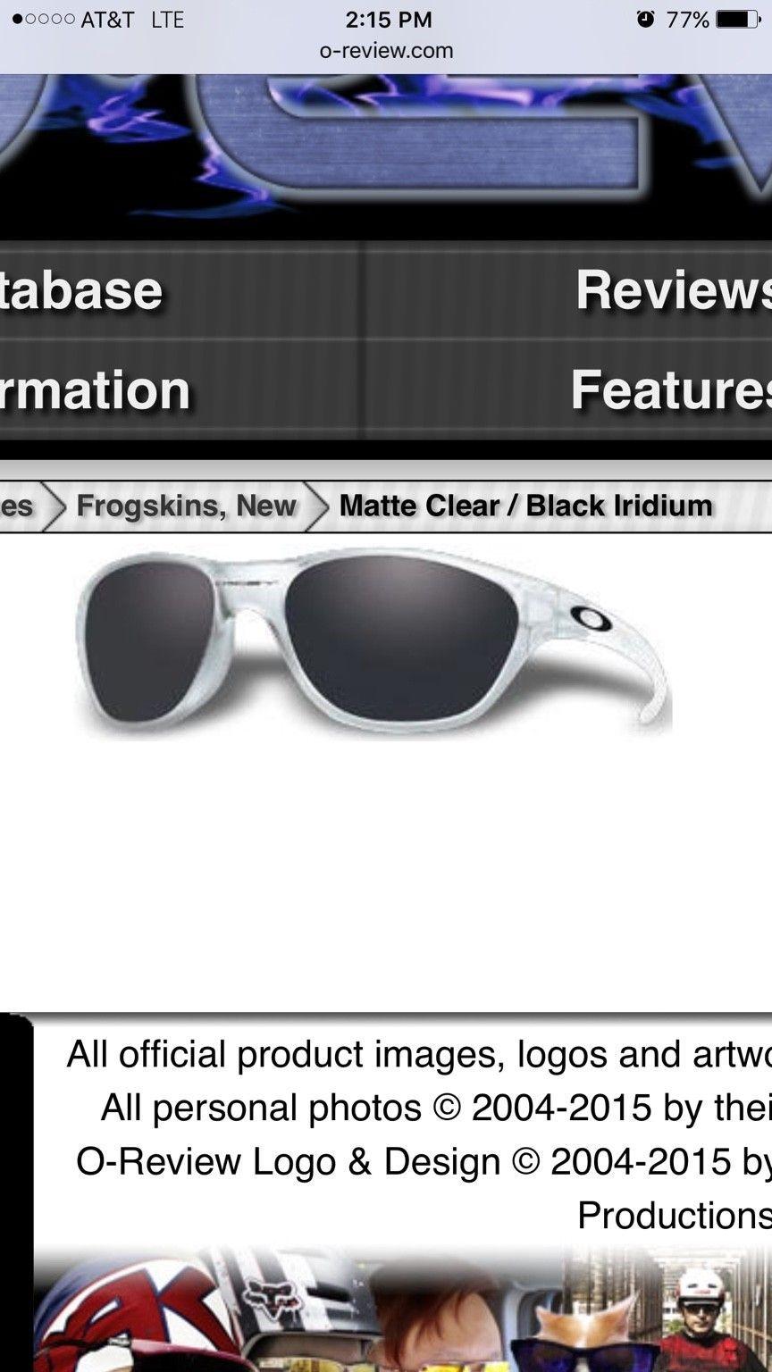 Frogskins, New Matte Clear/BI - ImageUploadedByTapatalk1444349301.725671.jpg