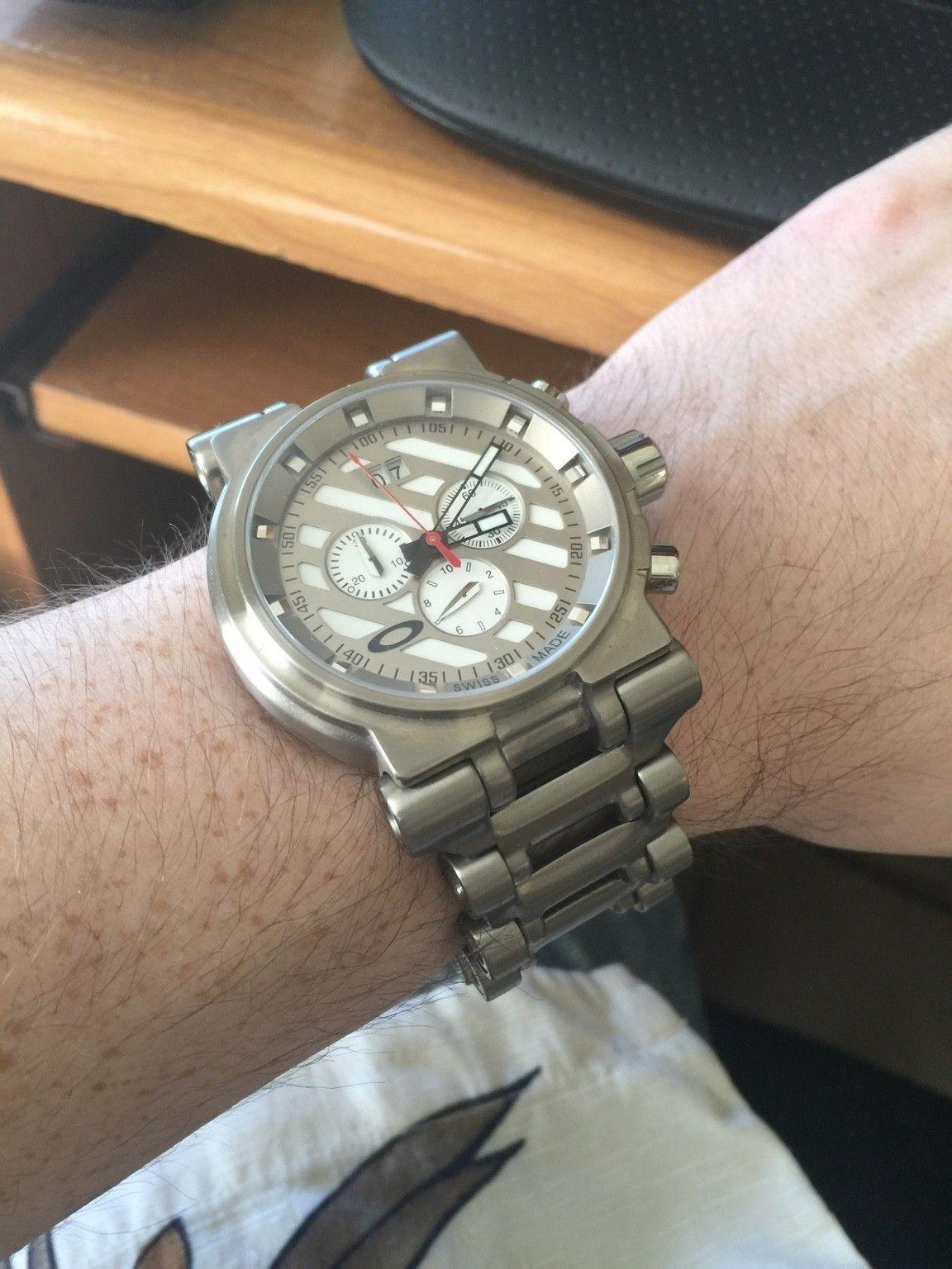 First Oakley Watch - ImageUploadedByTapatalk1446927018.084328.jpg