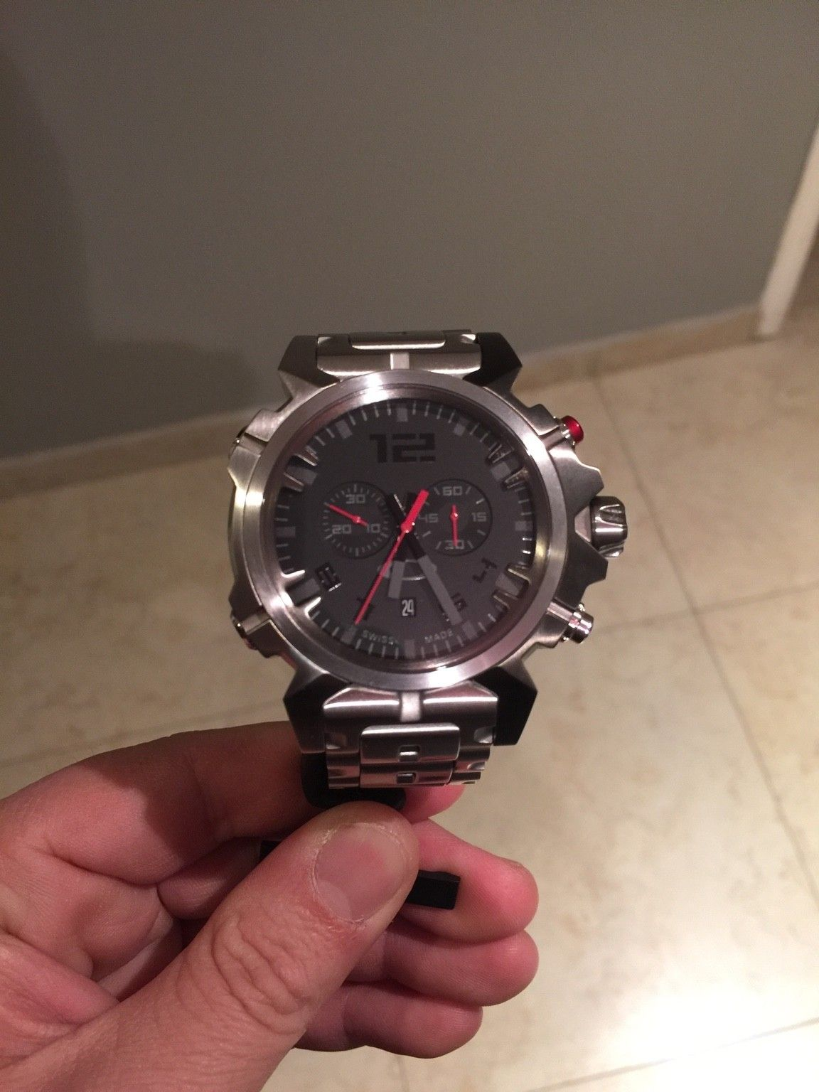 For sale Double tap watch complete - ImageUploadedByTapatalk1456883517.422218.jpg