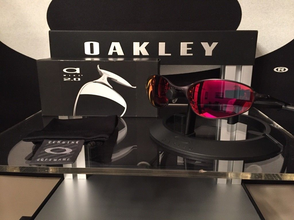 Oakley A-Wire 2.0.........Carbon/Ruby.......$125 - ImageUploadedByTapatalk1464034955.234900.jpg