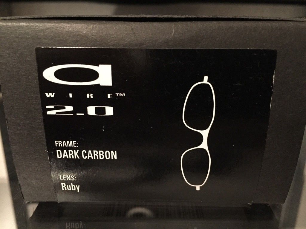 Oakley A-Wire 2.0.........Carbon/Ruby.......$125 - ImageUploadedByTapatalk1464034964.903617.jpg