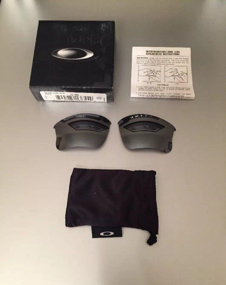 Oakley Flak Jacket XLJ Black Iridium Lenses......$55 - ImageUploadedByTapatalk1464726115.128214.jpg