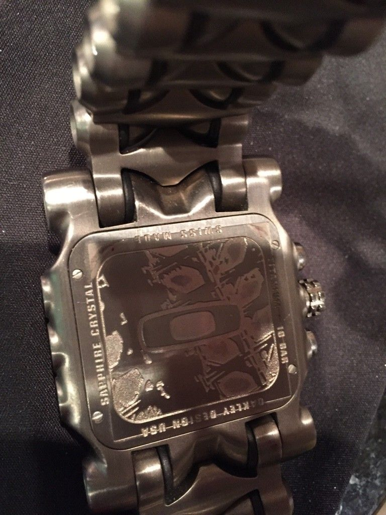 Oakley Minute Machine....$575 - ImageUploadedByTapatalk1464983010.255373.jpg