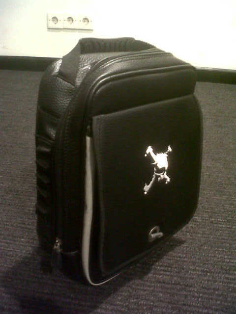 WTS Skull Shoes Bag Black - IMG-20120718-01797.jpg