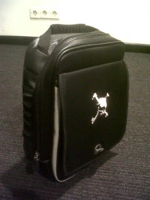 WTS Skull Shoes Bag Black - IMG-20120718-01797.jpg