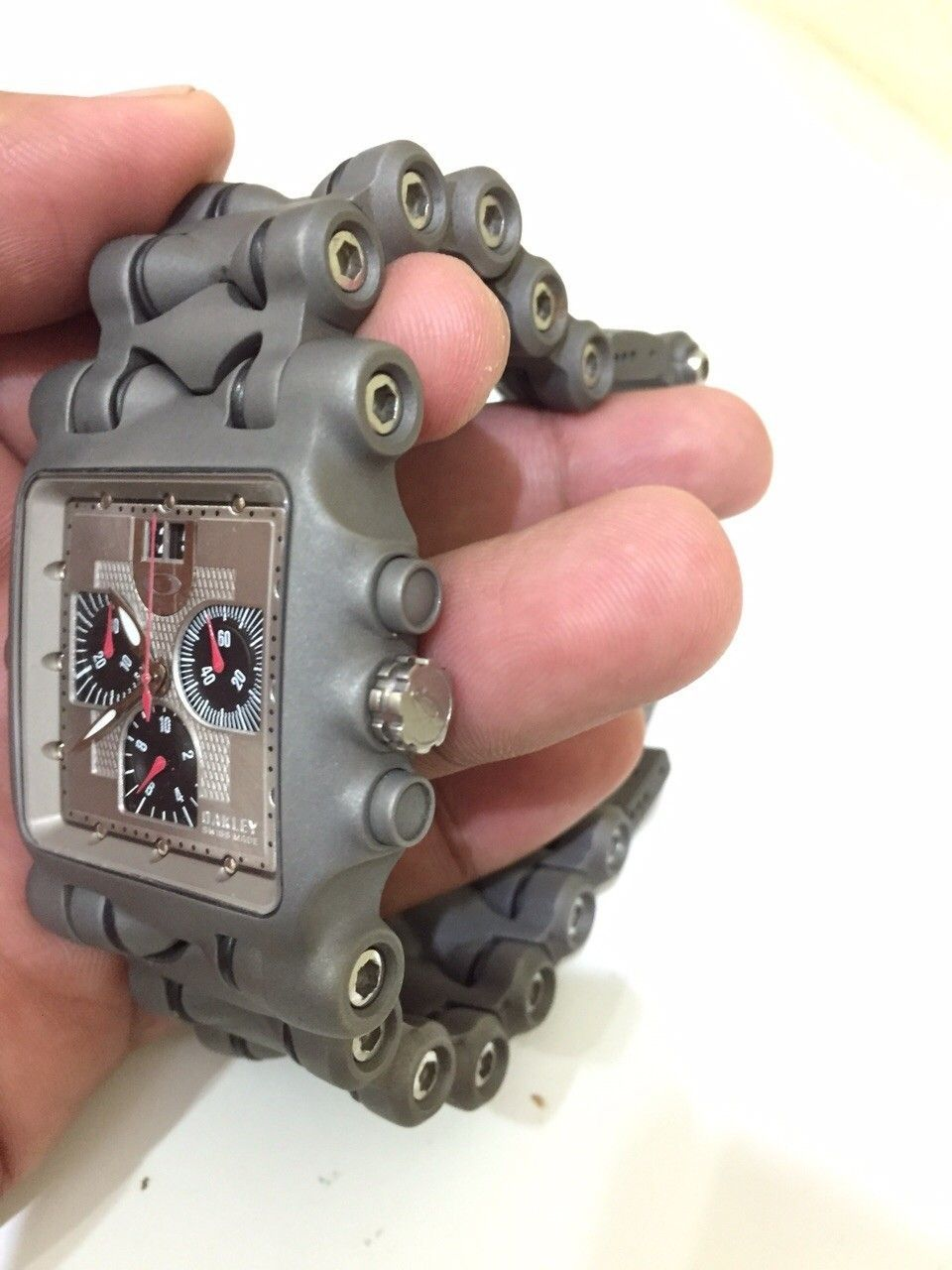 Minute machine silver dial xmetal custom - IMG-20150701-WA0006.jpg