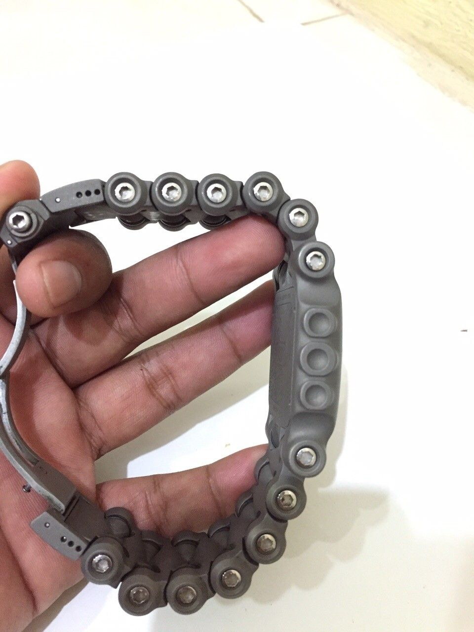 Minute machine silver dial xmetal custom - IMG-20150701-WA0011.jpg