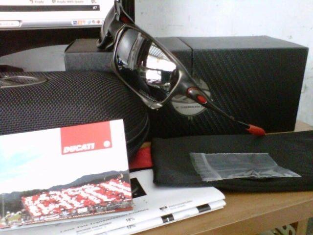 Oakley Xsquared Ducati LNIB & Romeo2 Xmetal - IMG00120-20121202-1057.jpg