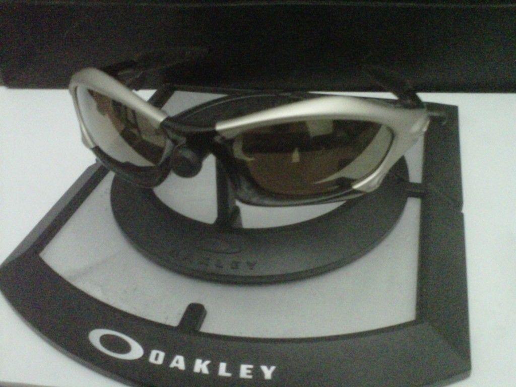 WTS Oakley Splice Platinum Rootbeer Gold Set - IMG00471-20120721-2008.jpg