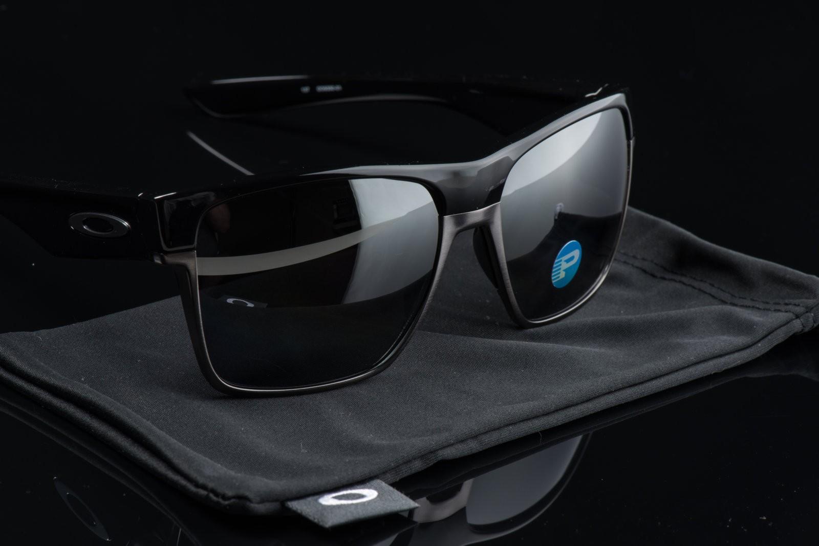 25d2ed4aa7 ... Oakley TwoFace XL Polished Black - Black Iridium Polarized OO9350-01 NEW  NO BOX ...