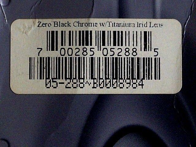 [FS] Oakley New Zero Black Chrome Lens Titanium Iridium. RARE !!! - img2013032001281.jpg