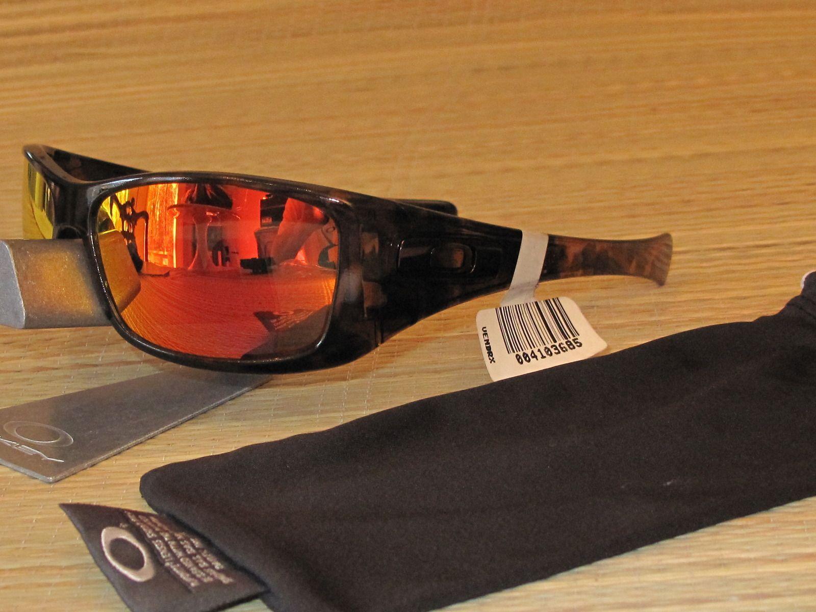 Oakley Hijinx Brown Tortoise Frame With A Ruby Iridium Lens Set - img2742ry.jpg
