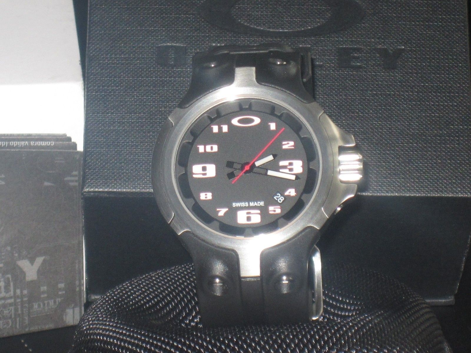 BNIB  Bottle cap watch black - IMG_0009.JPG
