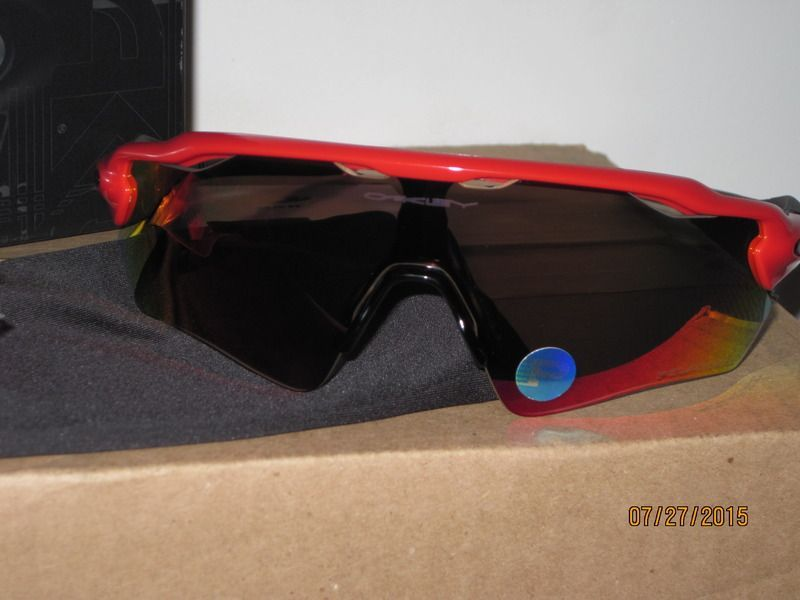 For Sale - Oakley Radar EV Path, OO9208-08, Redline frame +