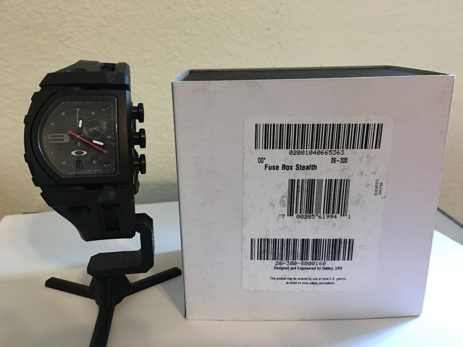 Oakley Fuse Box Stealth Electrical Wiring Diagrams Manual Sold Fusebox Bnib Forum Livestrong Titanium Watch