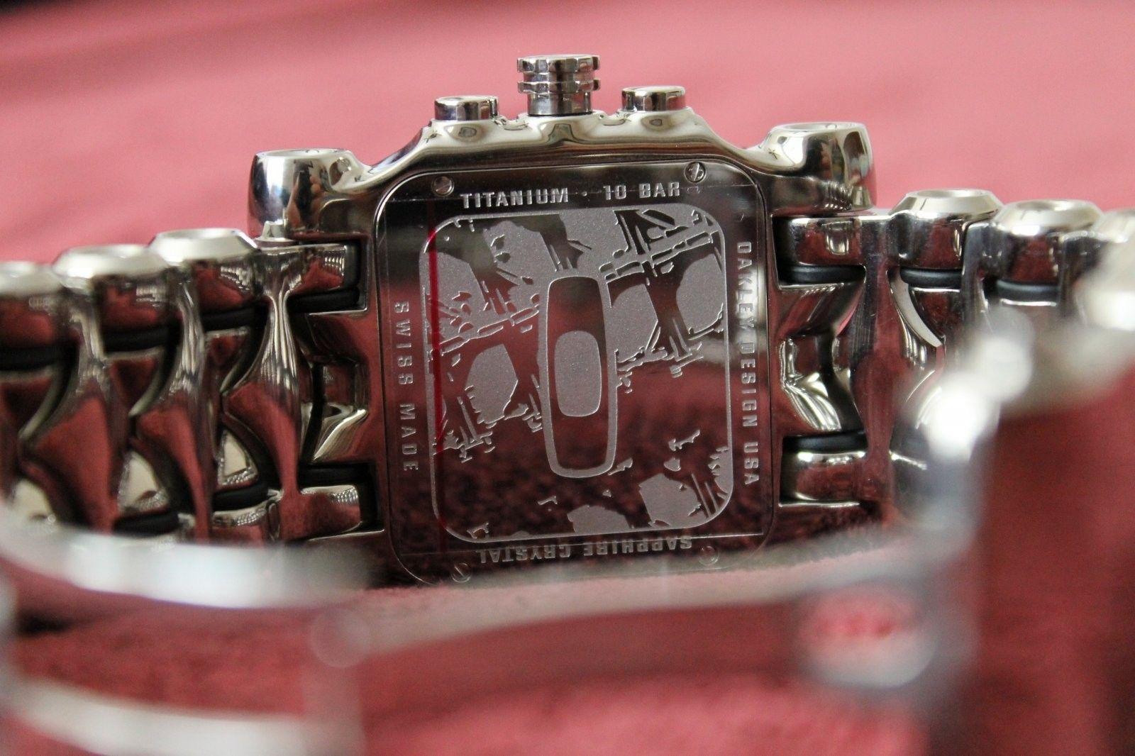 Polished Minute Machine With Black Dial NIB - IMG_0178.JPG