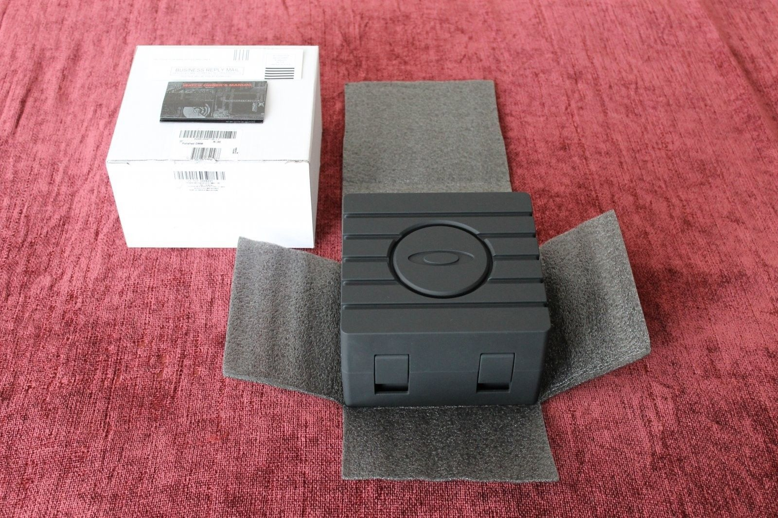 Polished Minute Machine With Black Dial NIB - IMG_0183.JPG