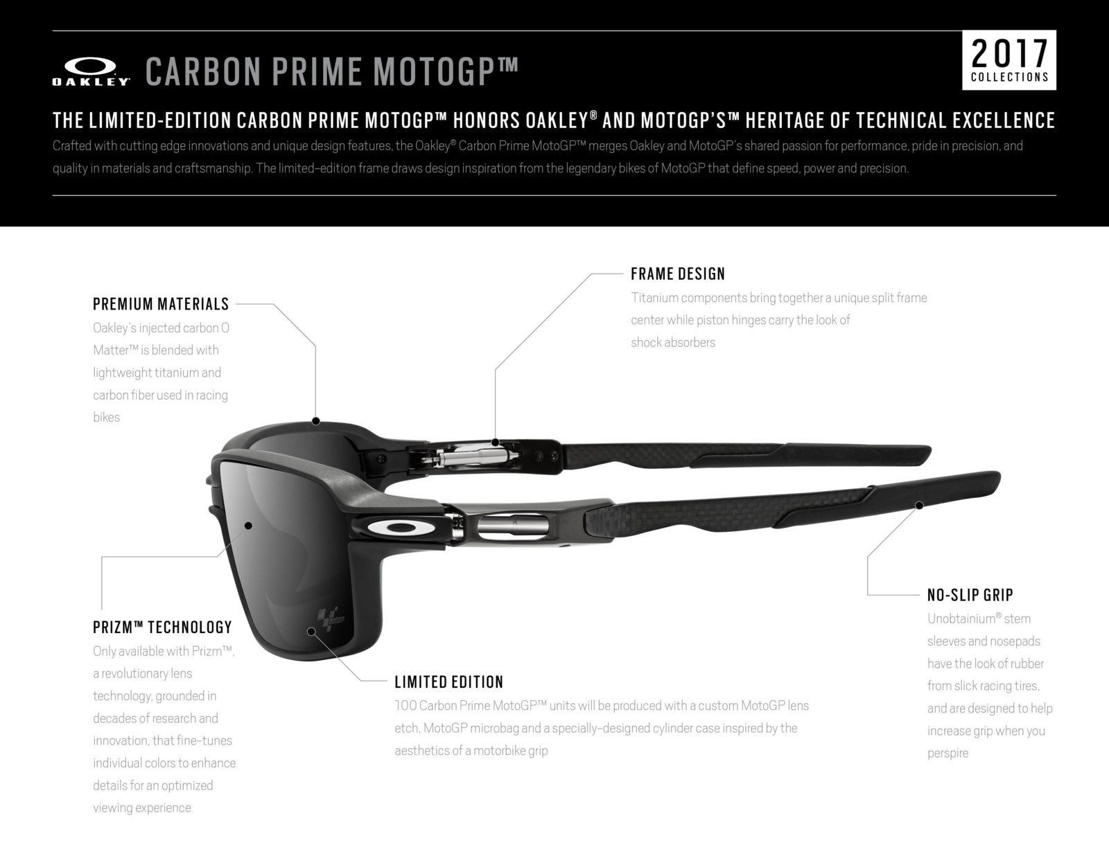 c36d6d5fc1 Review  Oakley Carbon Prime Limited Edition MotoGP — SKU OO6021-0463~(I619XX