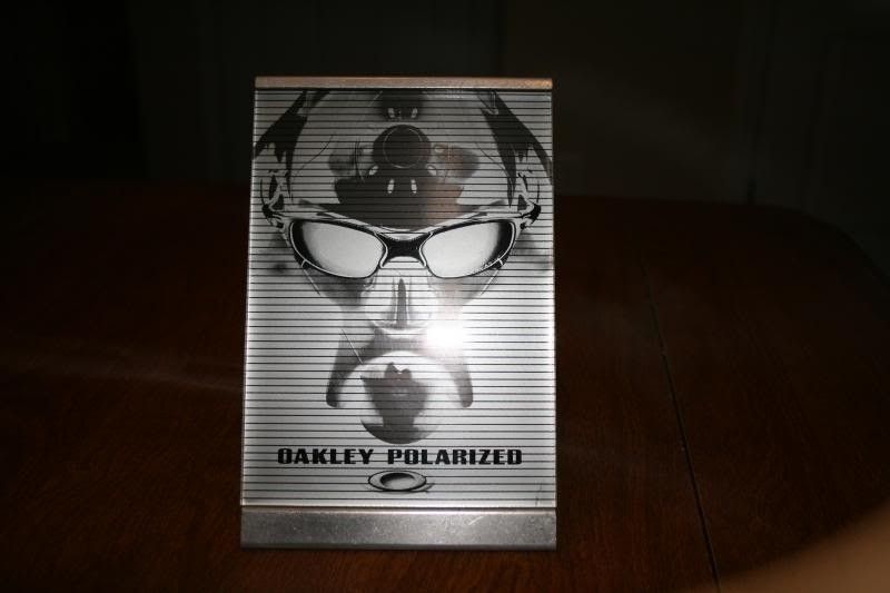 Juliet Polarized Display, Metal O Stickers, Sweatbands, Display Pieces And Pro M Socks/Nosepad - IMG_0285.jpg