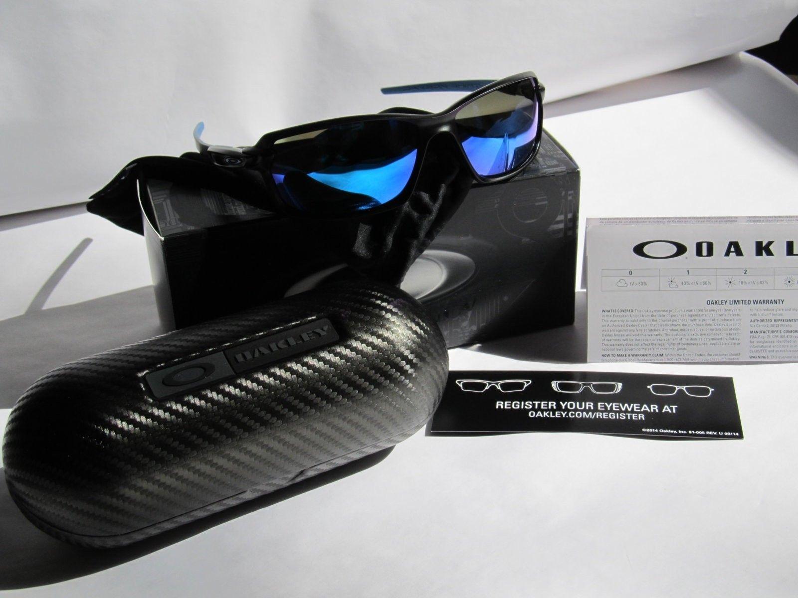 OAKLEY CARBON SHIFT MATTE BLACK Sapphire Iridium - OO9302-02 - IMG_0436.JPG