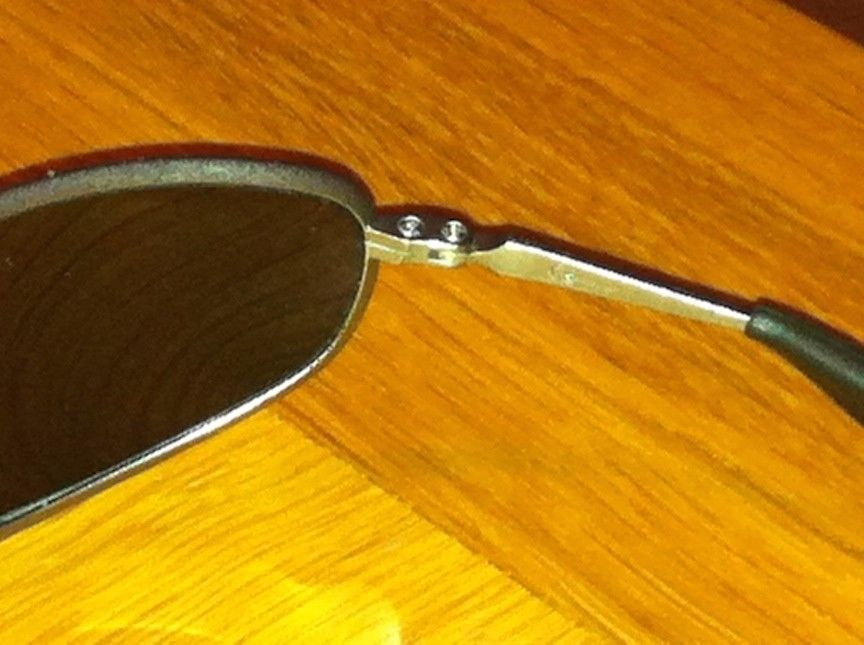 1st post: Are these Oakleys the real deal? - IMG_0473.JPG