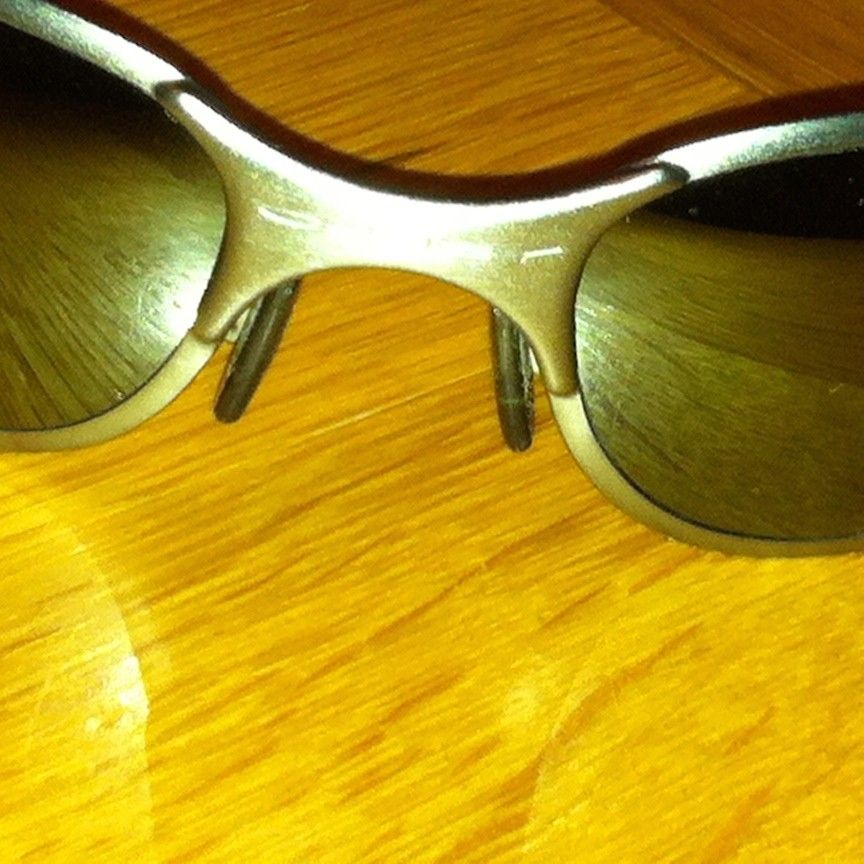 1st post: Are these Oakleys the real deal? - IMG_0477.JPG