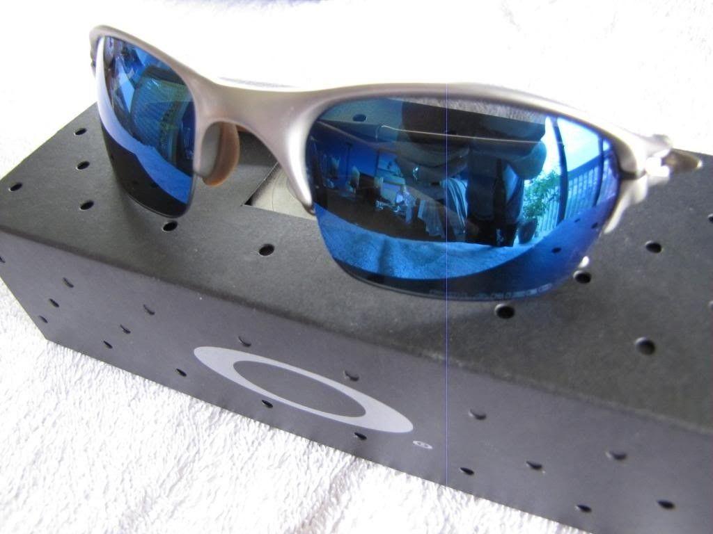 Titanium Half X - Plasma Frames W/ Polarized Ice Blue Iridium Lenses - IMG_0805.jpg