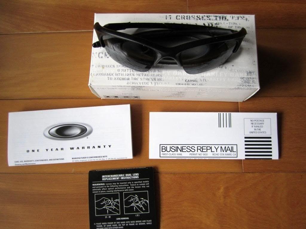 WTS: Oakley Half Jacket XLJ $70 ***SOLD*** - IMG_0813_zps354539c2.jpg