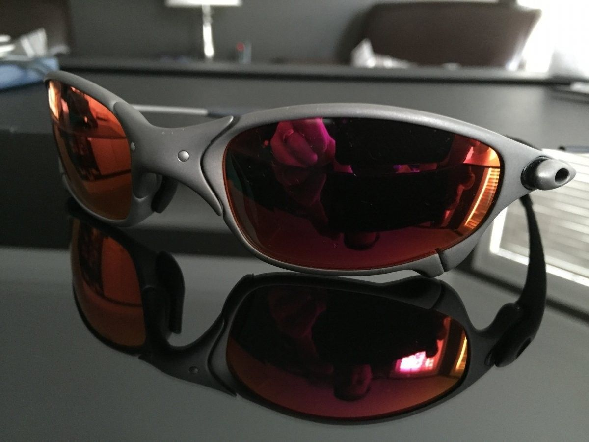 Juliet X metal/ linegear Premium Red Polarized 285.00 - IMG_0994.JPG