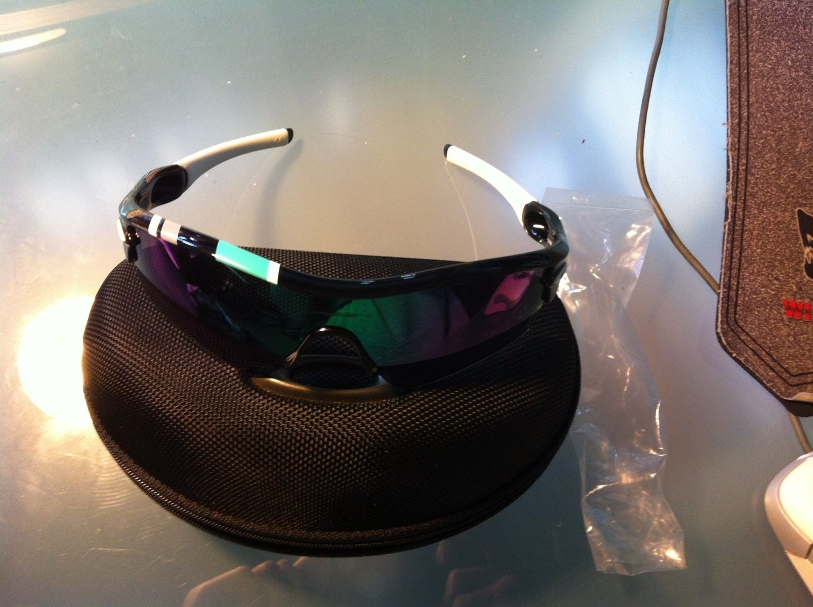 PRICE DROPPED 30 Year Sport Radar+extra lens+earsock and nosepiece kit - IMG_1125.jpg