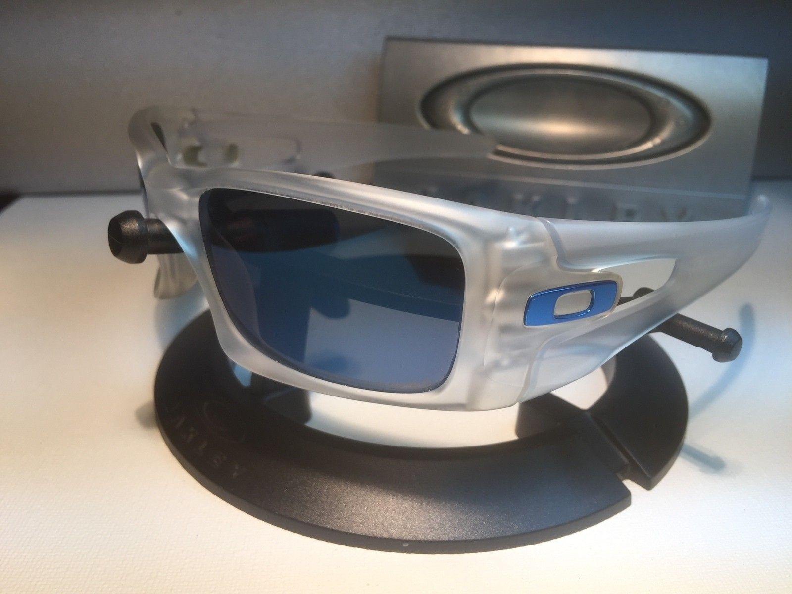 CRANKCASE  MATTE CLEAR / POLARIZED ICE BLUE  SOLD - IMG_1154.jpg