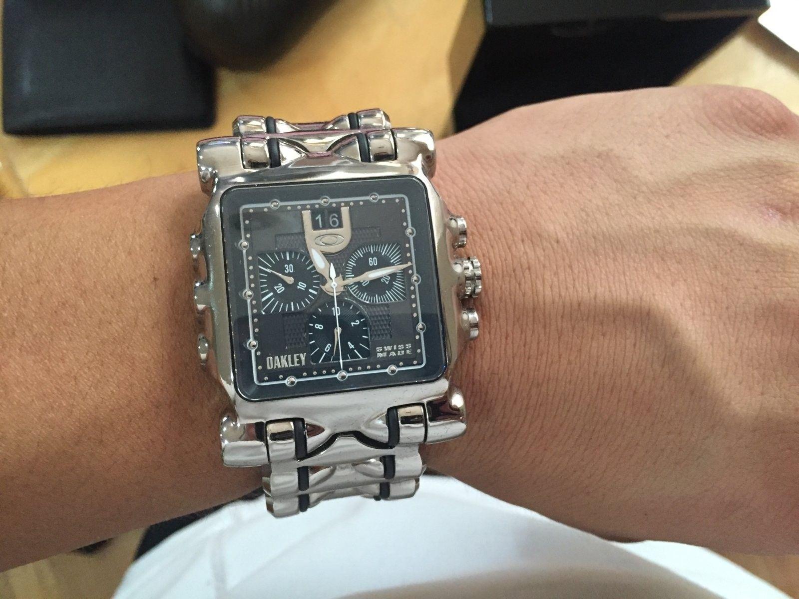 Oakley Minute machine black polished - IMG_1203.JPG