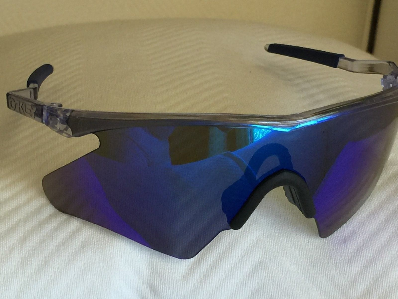 Contemporary Oakley M Frame Blue Iridium Picture Collection ...