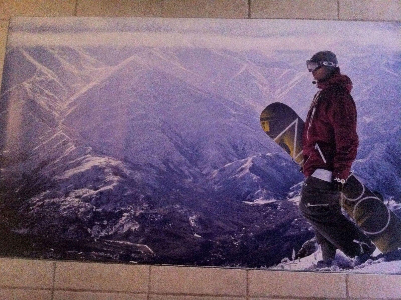 Oakley 4x7 Foot Magnetic Store Display Posters - IMG_1359.JPG