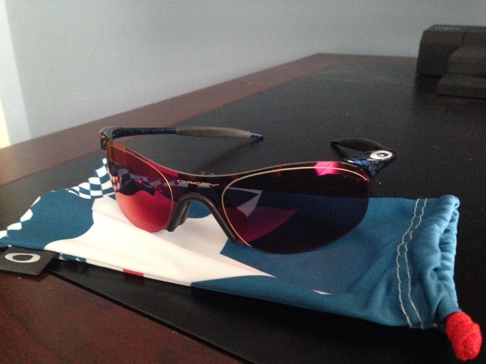 Oakley Zero .4 Squared New Cobalt Positive Red Iridium - IMG_1376.JPG