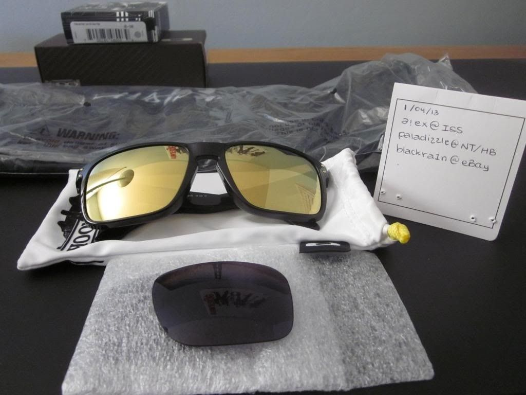 FS: Oakley Shaun White Holbrook Polished Black/Gold Iridium - IMG_1507_zpsa02f2ee8.jpg
