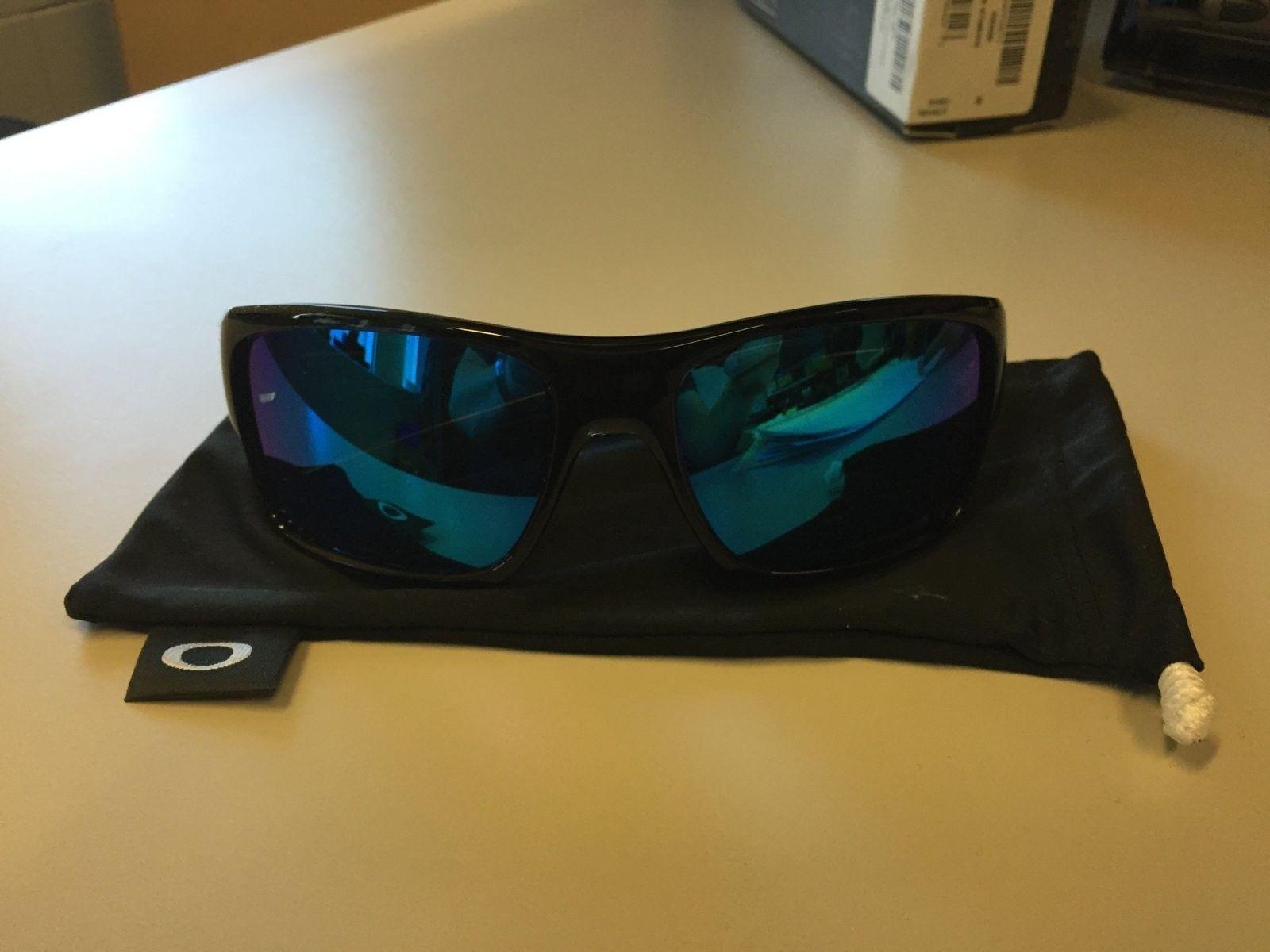 oakley turbine sunglasses black  mint oakley turbine sunglasses black ink w/ sapphire iridium $90 all in img_1534.