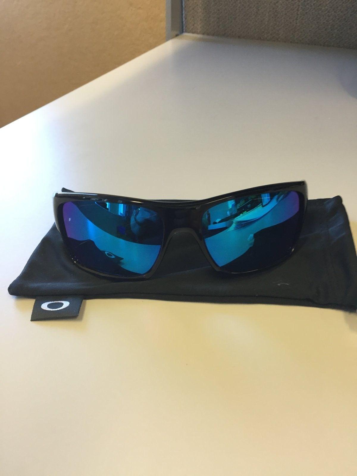 Mint Oakley Turbine Sunglasses Black Ink w/ Sapphire Iridium  $90 All In - IMG_1535.JPG