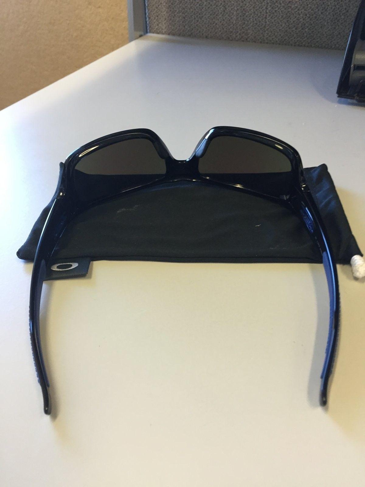 Mint Oakley Turbine Sunglasses Black Ink w/ Sapphire Iridium  $90 All In - IMG_1537.JPG