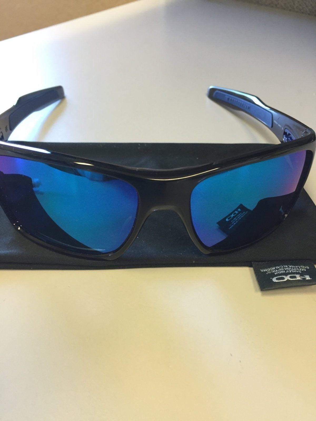 oakley turbine sunglasses black  mint oakley turbine sunglasses black ink w/ sapphire iridium $90 all in img_1539.