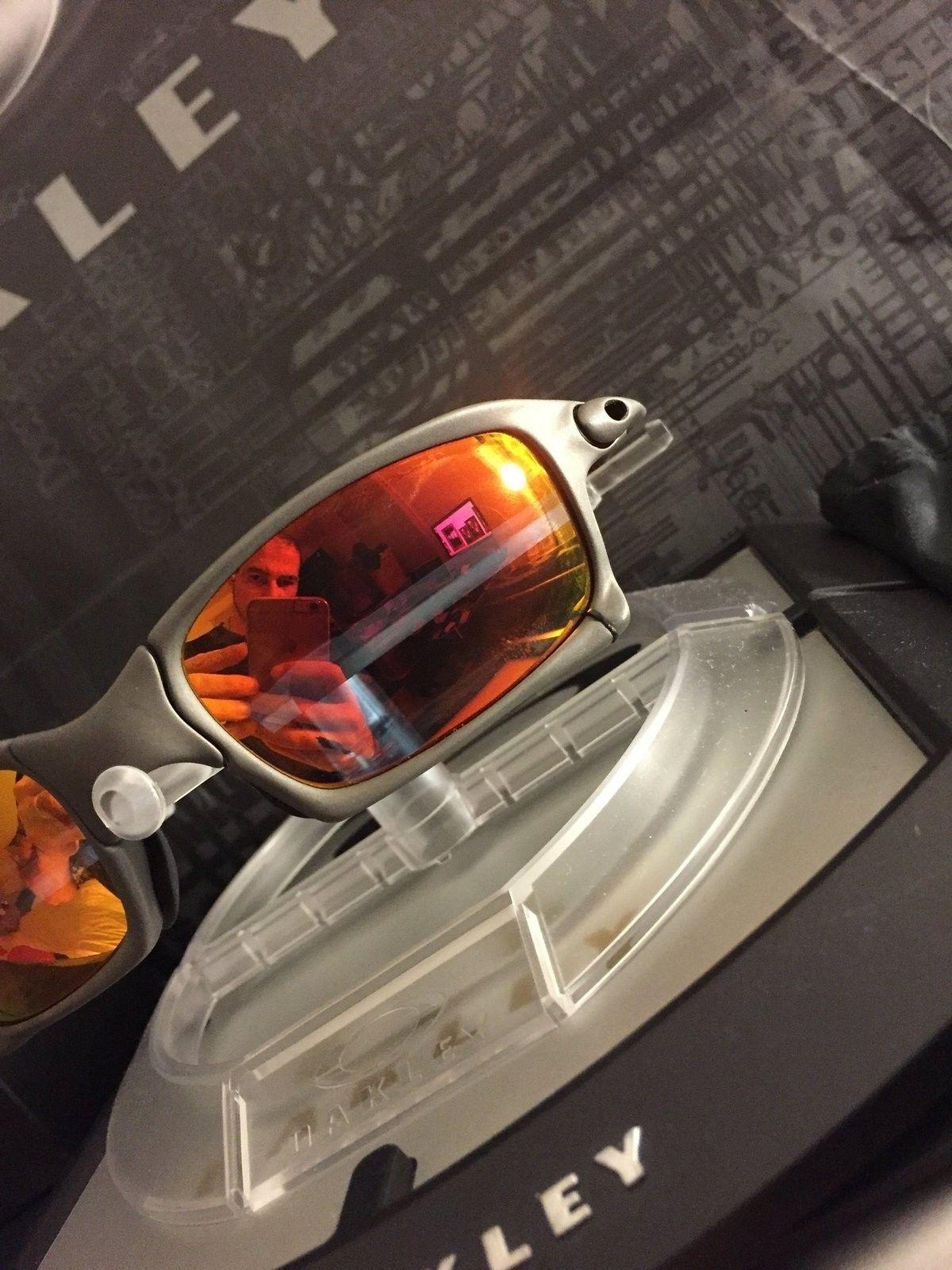 Oakley X squared x metal ruby iridium - IMG_1602.JPG