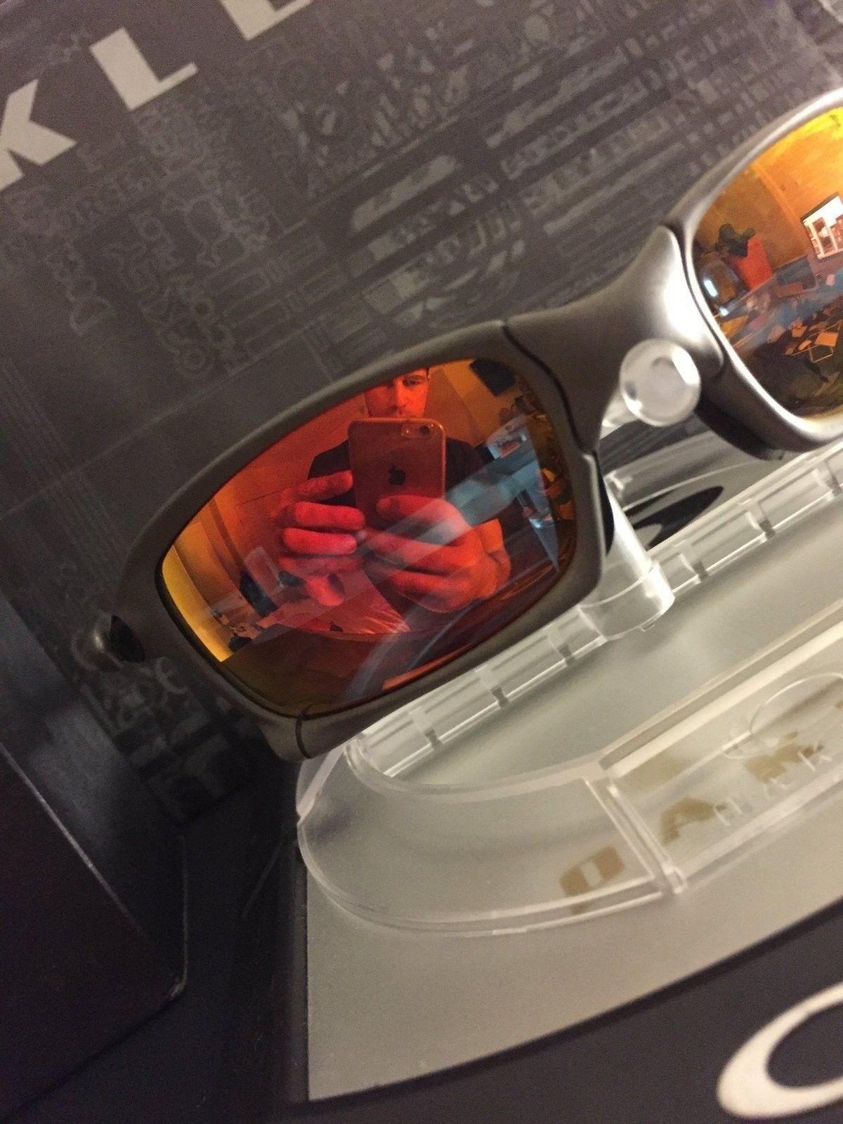 Oakley X squared x metal ruby iridium - IMG_1603.JPG