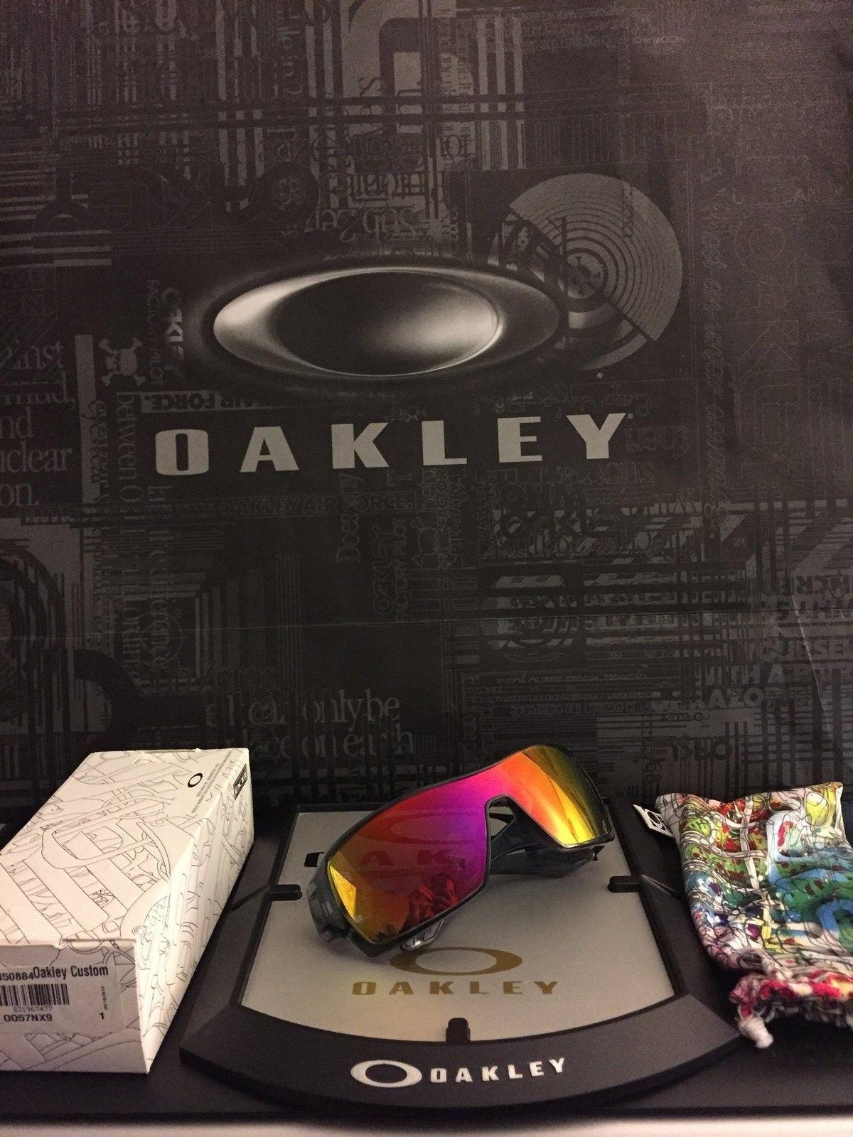 Oakley offshoot polarized ruby iridium - IMG_1645.JPG