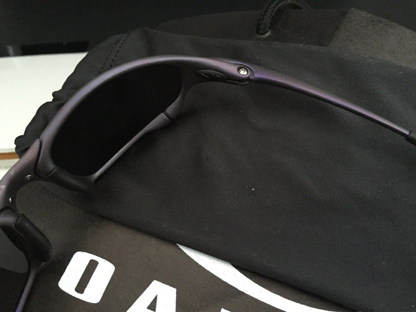 Anodized Juliet X-Metal Finish Purple w/ Brand New OEM Black Lenses - IMG_1738.JPG