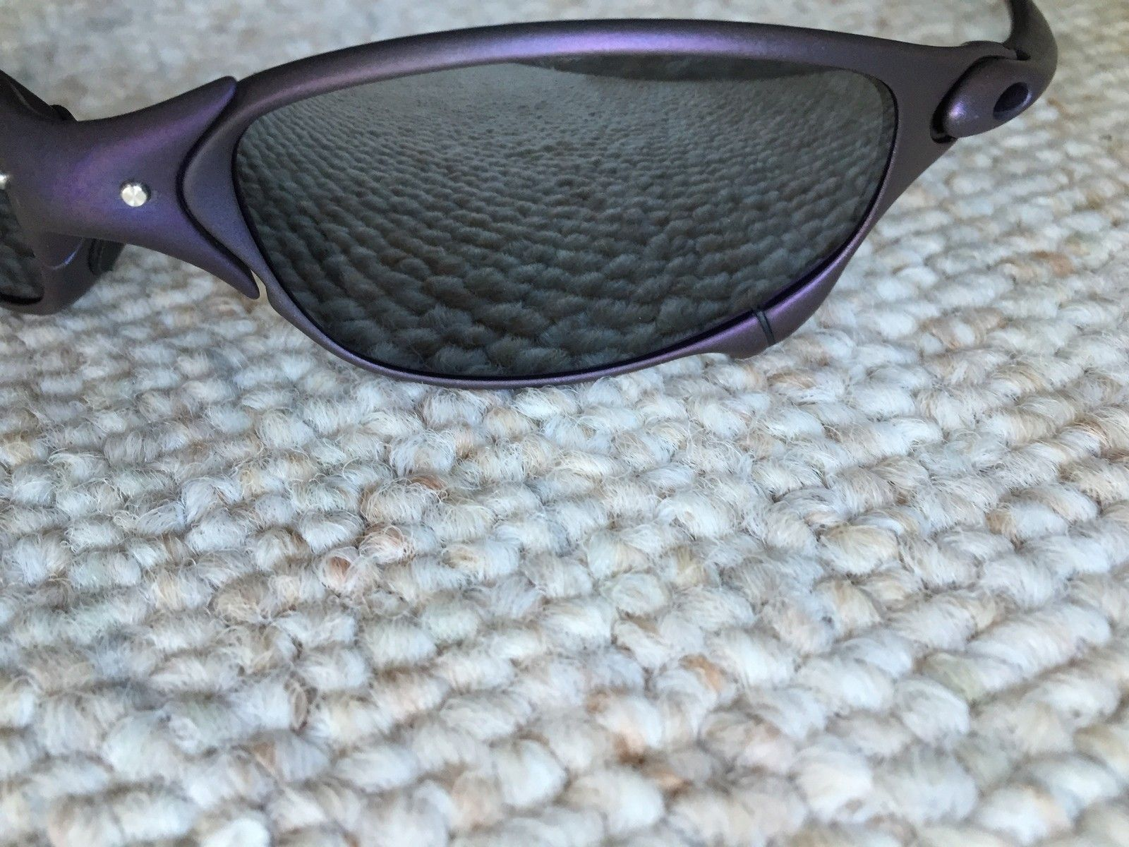 Anodized Juliet X-Metal Finish Purple w/ Brand New OEM Black Lenses - IMG_1742.jpg