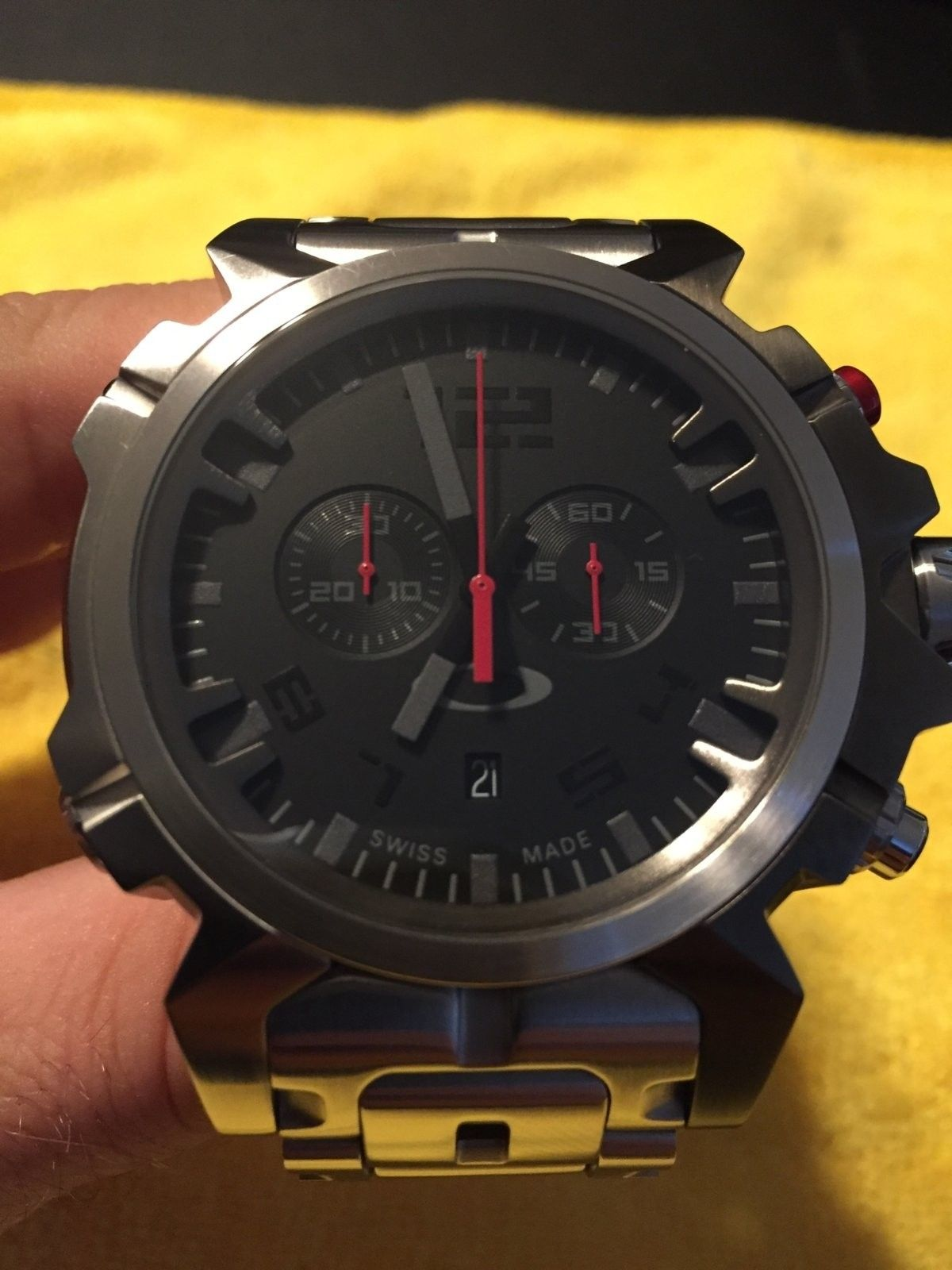 Double Tap Stainless watch - IMG_1746.JPG