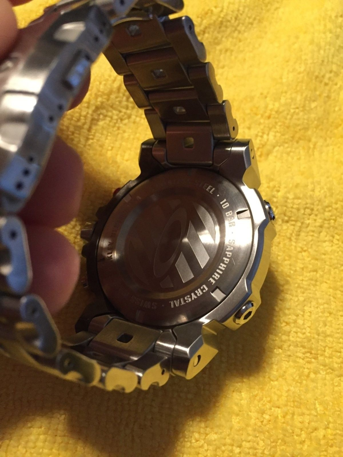 Double Tap Stainless watch - IMG_1749.JPG