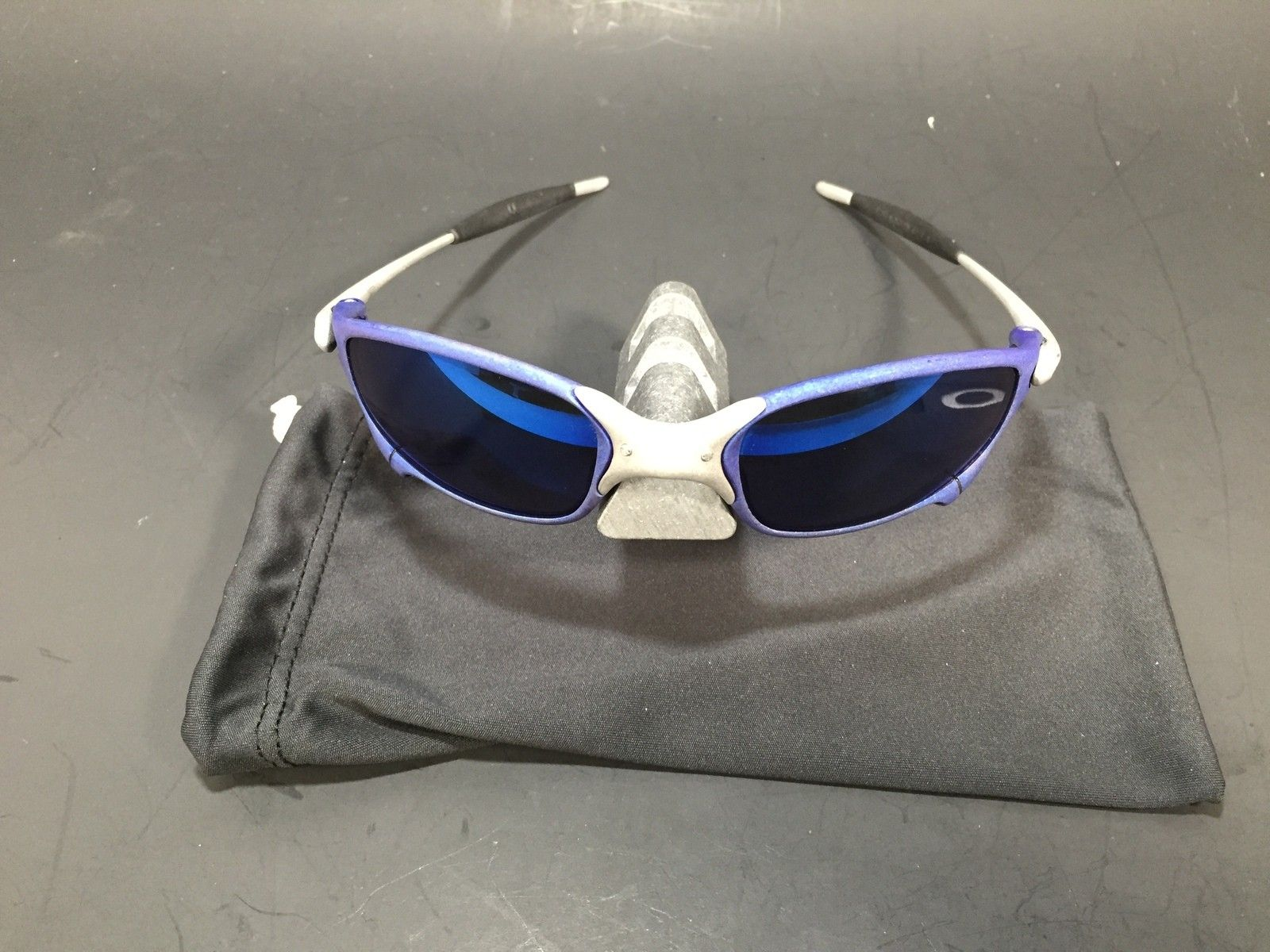 Anodized Juliet Dallas Cowboys colors Blue/Silver w/ OEM Ice Lenses - IMG_1775.JPG