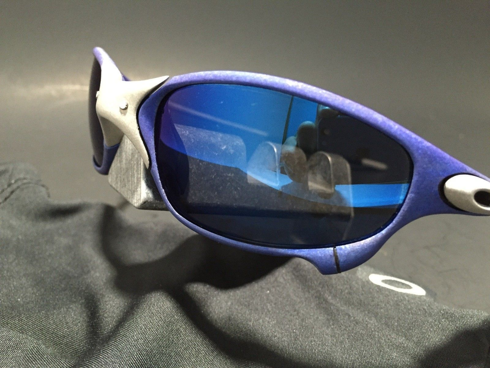 Anodized Juliet Dallas Cowboys colors Blue/Silver w/ OEM Ice Lenses - IMG_1778.JPG