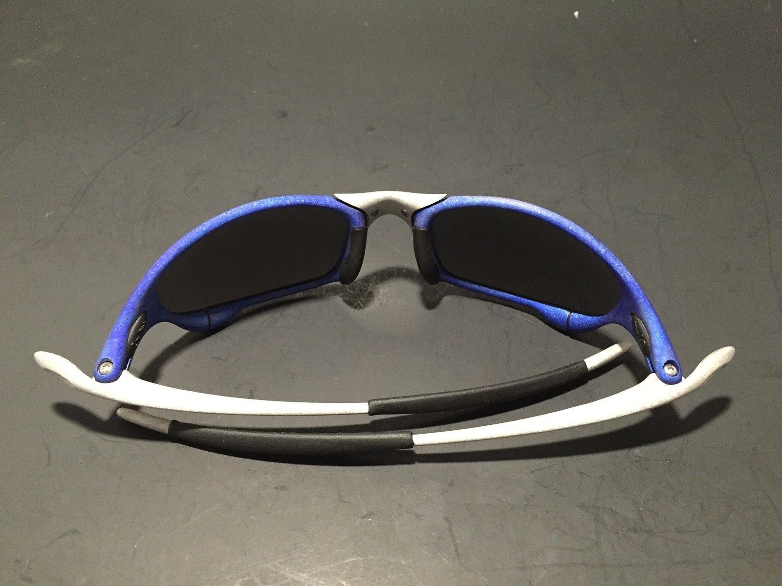 Anodized Juliet Dallas Cowboys colors Blue/Silver w/ OEM Ice Lenses - IMG_1781.JPG